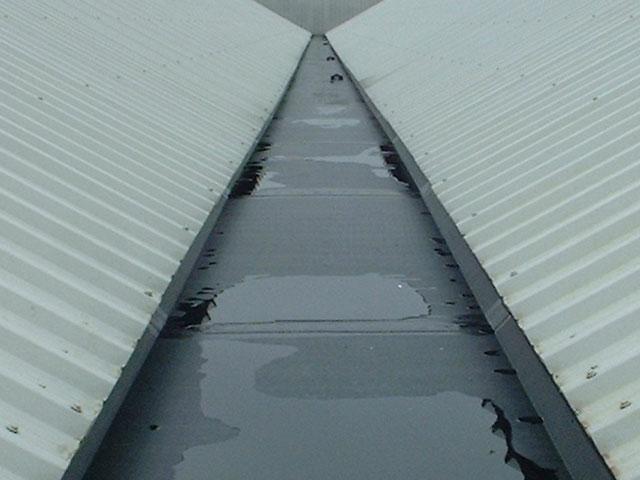 Cast iron gutters
